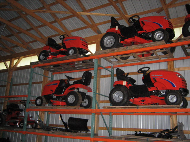 We Also Have Storage For The Winter In Our Warehouse (with Full Service).  Littleu0027s Lawn Equipment ...